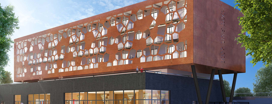 MOB HOTEL:  Lyon, France Rendering